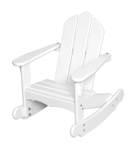 Little Colorado Child's Adirondack Rocking Chair- White