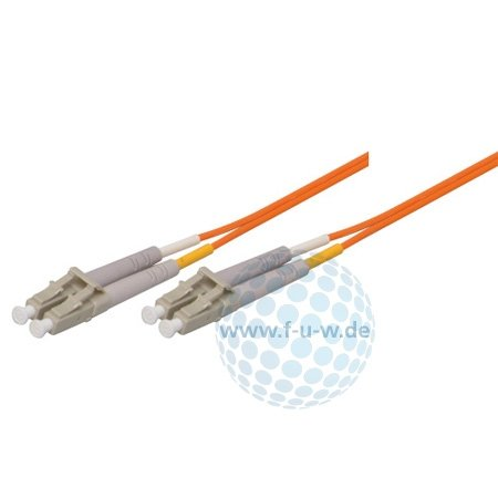 Tecline 85320 OM2-Faser LWL-Kabel (50/125 µm, 20,0 m) orange