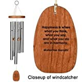 31DrgBon6DL. SL160  Woodstock Reflections Motivation Chime ~ Happiness ~ Tuned Wind Chimes