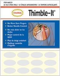 Colonial Needle Thimble It Finger Pads 64/Pkg 60229; 3 Items/Order