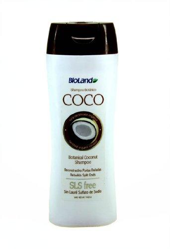 Coconut Reconstructor Shampoo For Split Ends 420Ml./ Shampoo De Coco Reconstructivo 420Ml