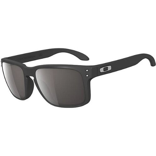Oakley Sunglasses HOLBROOK OO9102 01 Matte Black Frame with Warm Grey lenses 4eee4f1c0e