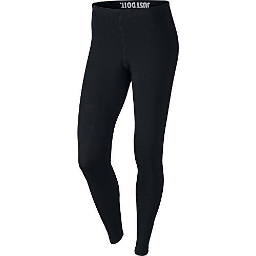 Nike Womens Leg-A-See Logo Leggings Black/White 806927-010 Size Small