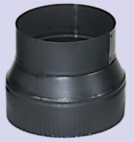Chimney 73455 Stovepipe 24 Gauge 7 Inch Male To 6 Inch