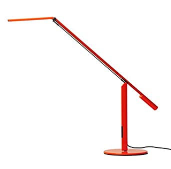 Koncept ELX-A-C-ORG-DSK Equo LED Desk Lamp, Cool Light, Orange