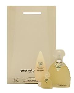 Fleur De Diva By Emanuel Ungaro For Women. Gift Set ( Eau De Toilette Spray 1.7 Oz + Body Lotion 1.0 + Edt Miniature 4.5 Ml  )
