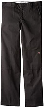 Dickies Big Boys' Flex Waist Double Knee Pant, Black, 8