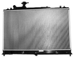TYC 2918 Mazda CX-7 1-Row Plastic Aluminum Replacement Radiator (Mazda Cx7 Radiator compare prices)