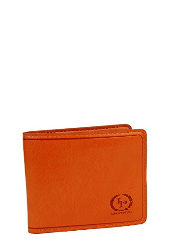 Lino Perros Women's Wallet (Orange)  available at amazon for Rs.396