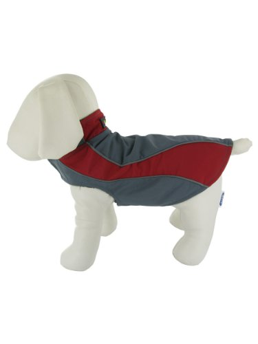 Explorer Nylon Fleece Reflective Dog Coat