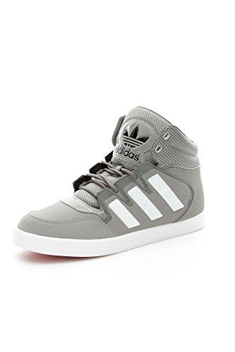 Adidas - Adidas Dropstep Scarpe Uomo Grigie Pelle Lacci M18027 - Grigio, 40