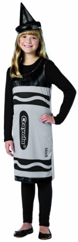Rasta Imposta Crayola Tank Dress, Black, Tween 10-12
