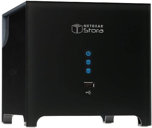 NETGEAR Stora 2-Bay 1 TB (1 x 1 TB) Network Attached Storage MS2110