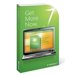 Microsoft Windows 7 Anytime Upgrade [Starter to Home Premium]