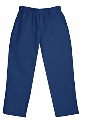 Classroom Big Boys' Uniform Pull-On Husky Pant,Dark Navy,8