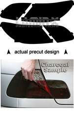 Chrysler Sebring (2007, 2008, 2009, 2010, 2011) Sedan Tail Light Film Covers (Color: CHARCOAL)