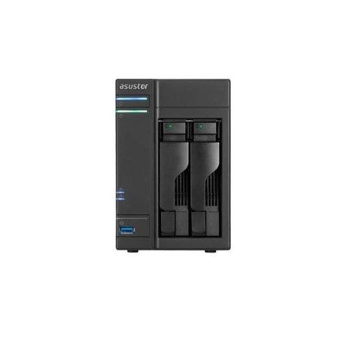 ASUSTOR AS-602T 2x Gigabit Boxee NAS (2xSATA, 2xUSB3.0, 4xUSB2.0, 2xeSATA, HDMI)