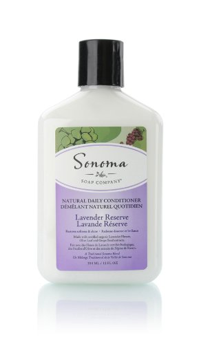 Sonoma Natural Daily Conditioner, Lavender Reserve, 12 Fluid Ounce (Fragrant Conditioner compare prices)