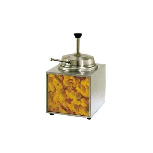 Star Mfg. Countertop 3.5 Qt. Lighted Warmer w/ Butter Pump