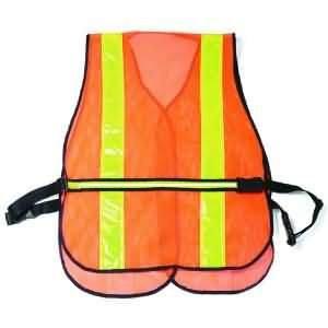 Zan Headgear/Bobster Safety Vest W/Led Light Ram17001