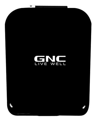 U5WY3F GNC Bluetooth Pedometer, Black