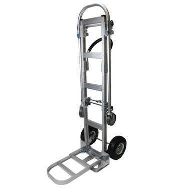 Convertible Aluminum Hand Truck With Nose Plate Extension