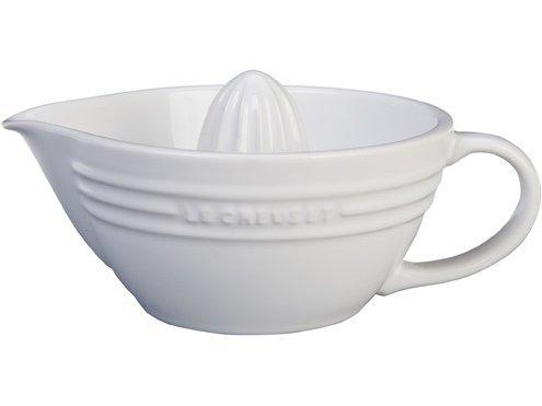 Le Creuset Stoneware 16-Ounce Citrus Juicer, White