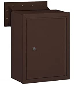 Receptacle for Mail Drop Color: Bronze