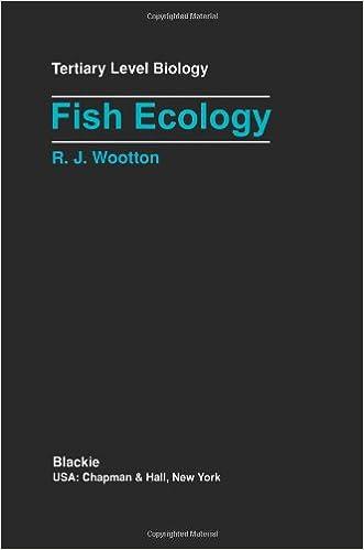 Fish Ecology (Tertiary Level Biology)
