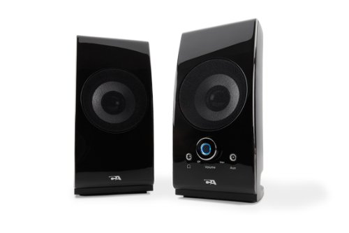 Cyber Acoustics CA-2022 2 0 Computer Speakers- BlackB00006B9WC : image