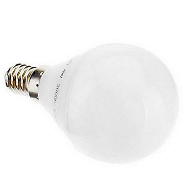 E14 G45 4.5W 28X3020Smd 330Lm 2700K Cri>80 Warm White Light Led Globe Bulb (220-240V)