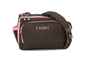 Ju-Ju-Be Be Tween Diaper Bag, Brown/Bubblegum (Discontinued by Manufacturer) by Ju-Ju-Be from Ju-Ju-Be