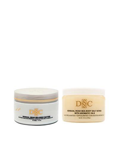Deep Sea Cosmetics Sensual Body Butter & Scrub 2-Piece Set