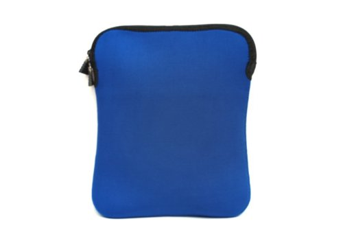 iShoppingdeals - Blue Neoprene Zipper Sleeve