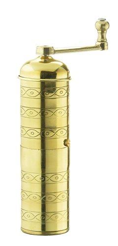 Zassenhaus Espresso and Mocca Grinder Havanna, Brass, 041002