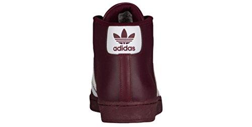 Adidas PRO MODEL mens fashion-sneakers B39370_10.5 - Maroon/White/Maroon