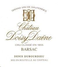 Chateau Doisy-Daene Barsac 2009 750Ml