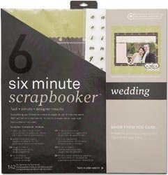 Six Minute Scrapbooker 12 Inch x12 Inch Page Kit - Wedding