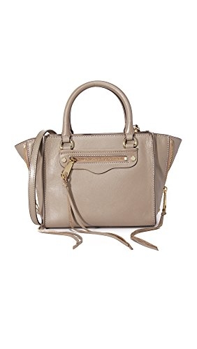 Rebecca Minkoff Side Zip Mini Regan Tote, Mushroom
