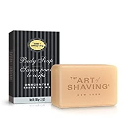 The Art Of Shaving Body Soap for Men, Unscented, 7.0 Ounce