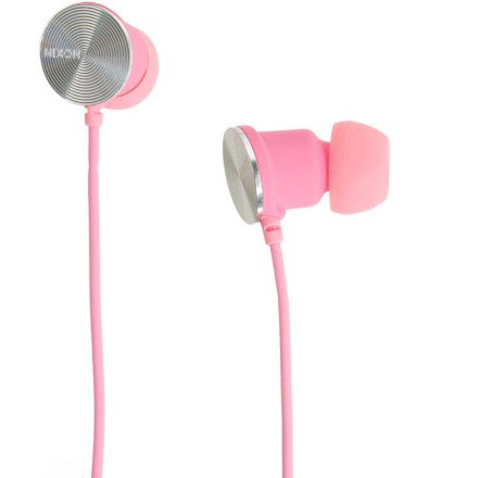 Nixon Wire 8Mm Headphone Rubber Pink Solid Wire, One Size