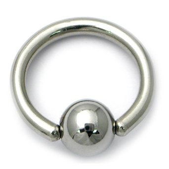 5-x-silver-titanium-plated-bcr-anodized-stainless-steel-cbr-captive-bead-ring-barbell-horseshoe-lip-