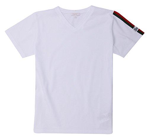 Gucci -  T-shirt - ragazzo bianco 6 anni