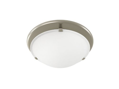 Broan 761bn decorative ventilation bath fan with light - Brushed nickel bathroom exhaust fan ...