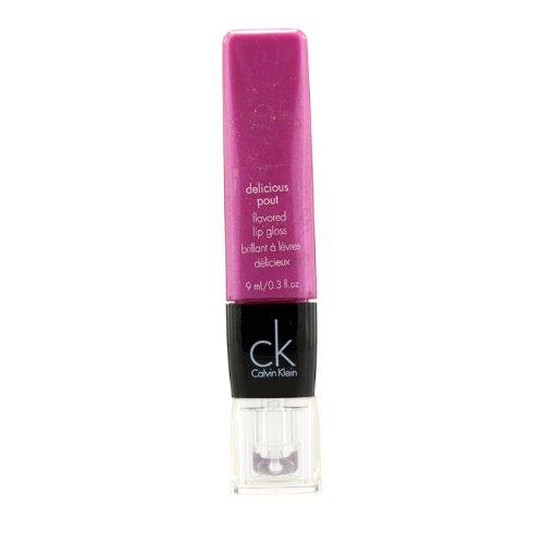 カルバンクライン デリシャスパウト フレーバーリップグロス # 425 Pink Breeze 9ml 0.3oz並行輸入品