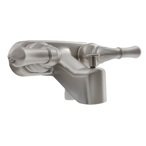 Dura Faucet (DF-SA110C-SN) RV Tub & Shower Faucet Valve Diverter - Brushed Satin Nickel Finish - For: Recreational Vehicle, Motorhome, Travel Trailer, Camper, Fifth (5th) Wheel, Towable (Vacuum Punp Oil compare prices)