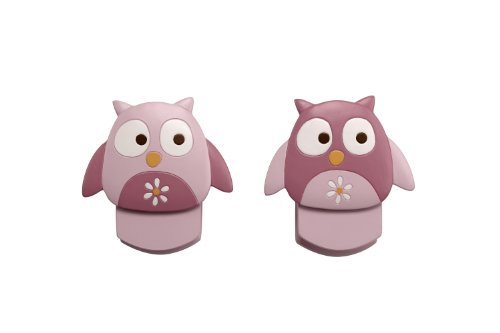 Nojo Wall Decor Clip, Owl, 2 Count front-800012