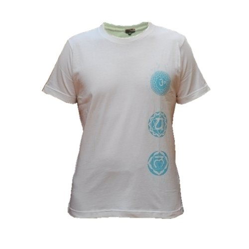 ZAMKARA yogawear Herren Yogashirt BANGARA, Weiss