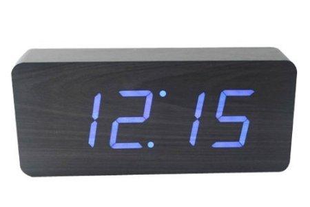 onwin-wood-grain-led-alarm-clock-time-temperature-date-sound-control-latest-generation-blue