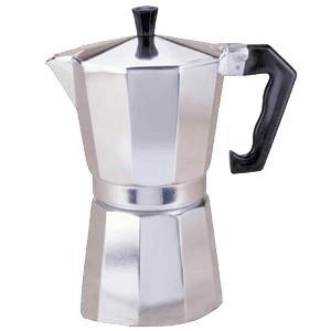 Primula Aluminum 9 Cup Stovetop Espresso Coffee Maker , Makes espress